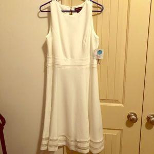 NEW Liz Claiborne formal white dress. Size 12